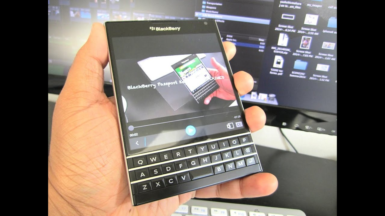 BlackBerry Passport Keyboard EXPLAINED!!! (REVOLUTIONARY)   YouTube