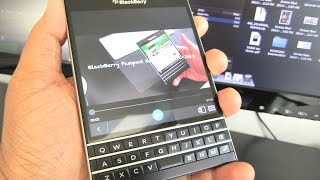 BlackBerry Passport Keyboard EXPLAINED!!! (REVOLUTIONARY)