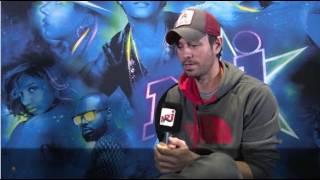 Enrique Iglesias interview NRJ Music Awards