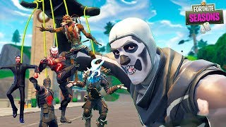 All TIER 100 SKINS are captured by SKULL TROOPER!! Fortnite Season 6 Short Film