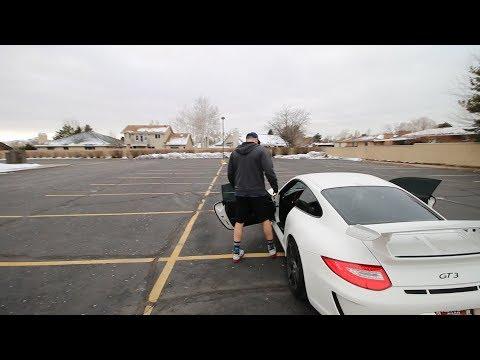 "Can 6'6""  fit in a Porsche GT3"