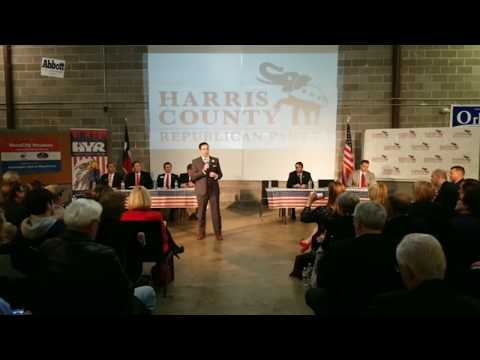 Harris County Republican Party Hosts Congressional District 2 Candidate Forum