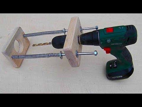 El Yapımı Matkap Kılavuzu / Homemade Straight Hole Drill Guide Jig