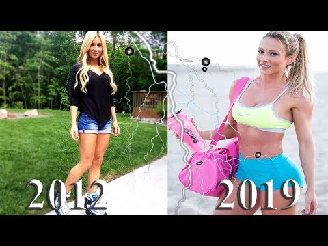 Muscle Transformation of perfect girl Paige Hathaway