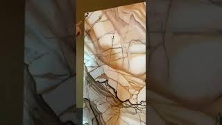 Monolith 4: Where is Neolithic - Explanation of my technique and plan for this painting