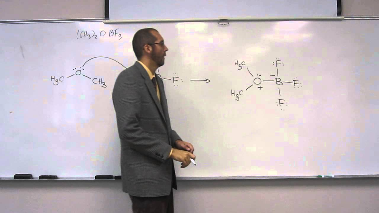 Lewis Acid-Base (Nucleophile-Electrophile) Lecture. Lewis ...