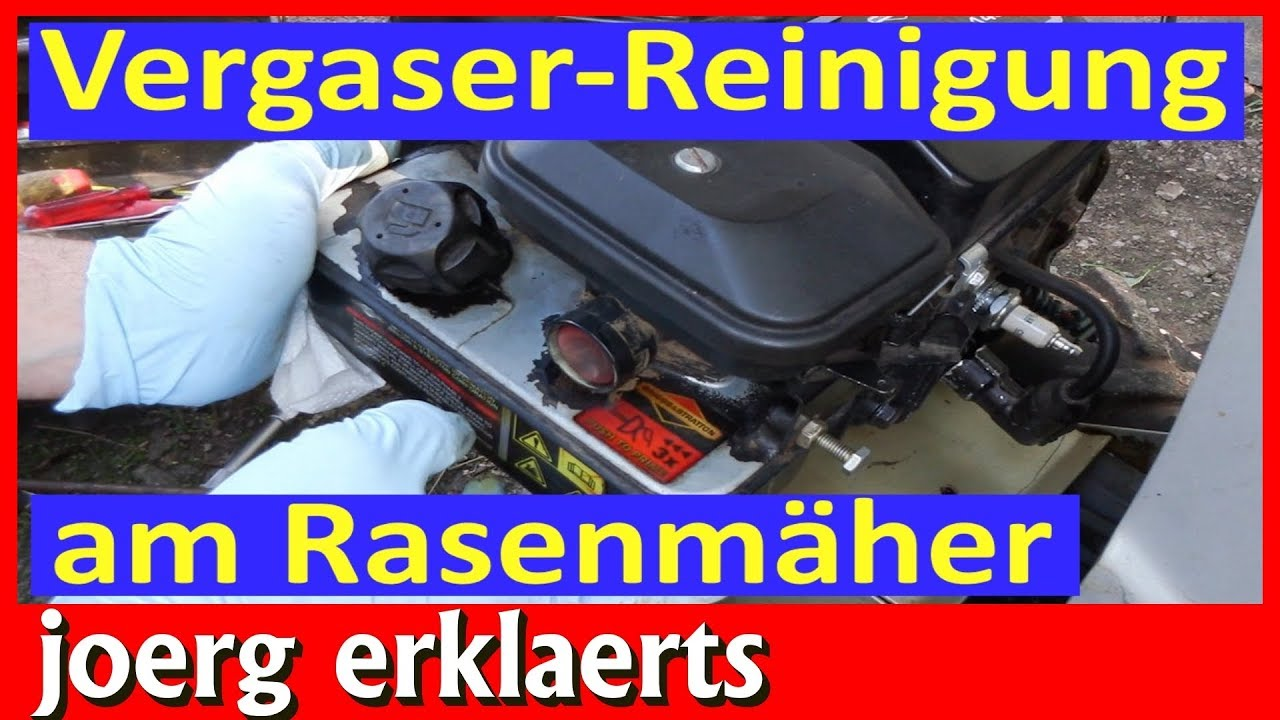 vergaser reinigung rasenm her ohne den motor zu zerlegen briggs stratton tutorial youtube. Black Bedroom Furniture Sets. Home Design Ideas