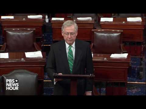 Senate Majority Leader McConnell speaks on Congressional baseball shooting
