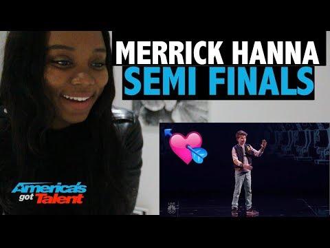 Merrick Hanna - Semi Finals Performance - Reaction!