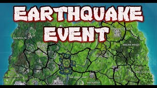 FORTNITE - EARTHQUAKE CRACKING MAP LIVE - FIRE KING HAS RETURNED - COUNTDOWN AND CRACK LOCATIONS