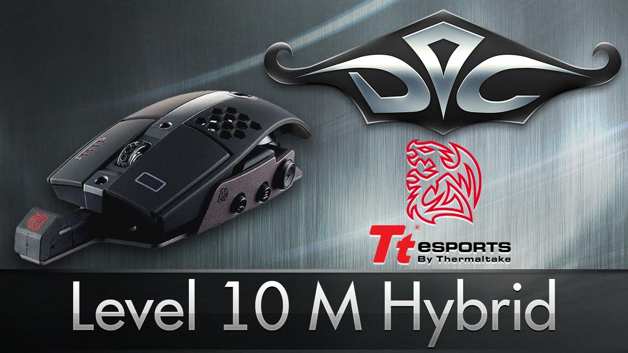 Tt eSPORTS Level 10 M Hybrid. Теперь без провода :D