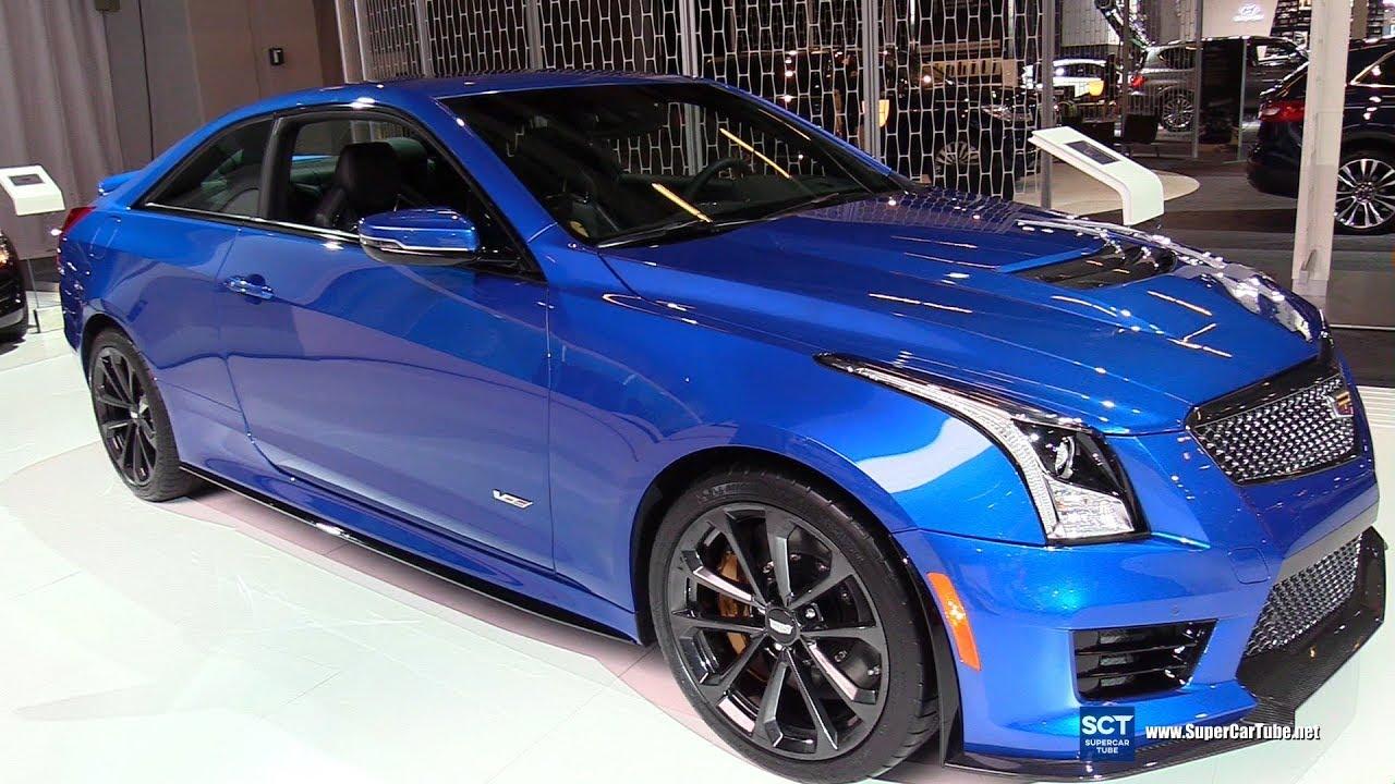 2018 Cadillac Ats V Exterior And Interior Walkaround Montreal Auto Show