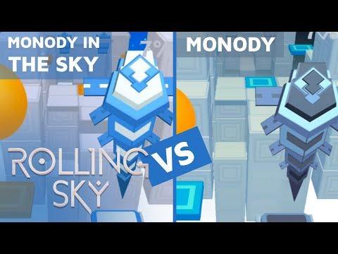 Rolling Sky - Monody in the Sky Vs Monody (ReSkinned Version) | SHAvibe