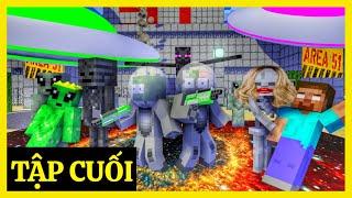 [ Lớp Học Quái Vật ] THẦY BỊ BẮT CÓC ( TẬP CUỐI )  | Minecraft Animation