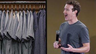 Mark Zuckerberg wears same clothes everyday, here