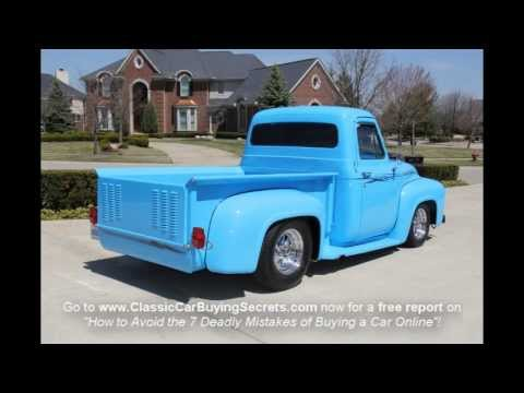 1953 Ford F-100 Pickup Classic Muscle Car for Sale in MI Vanguard Motor Sales