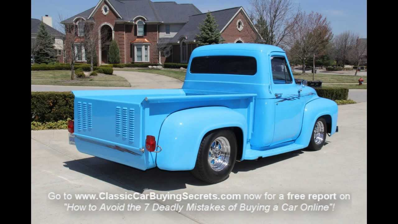 1953 Ford F-100 Pickup Classic Muscle Car for Sale in MI ...