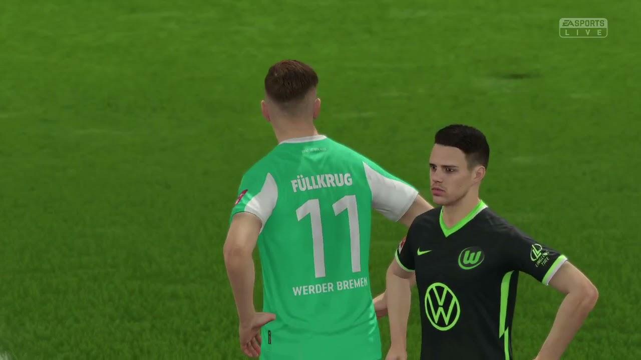 Vfl Wolfsburg Werder Bremen