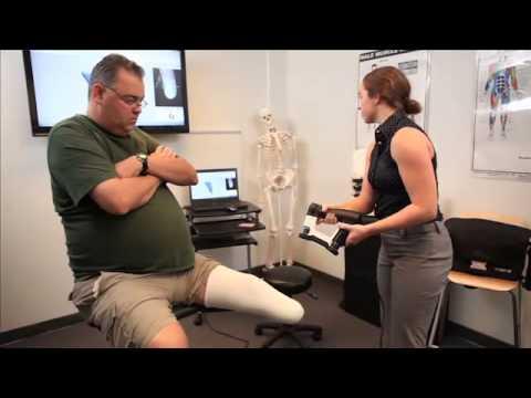 Vorum Spectra 3D Scanner - Scanning a Transtibial Patient