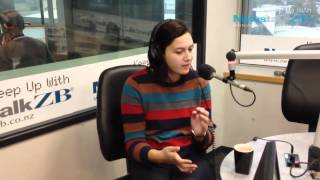 Rose Matafeo on the Mike Hosking Breakfast