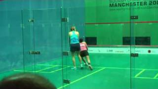 British Open 2009 - Laura Lengthorn-Massaro vs Rachael Grinham