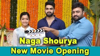 naga shourya new movie opening    rashmika mandanna    bhavani hd movies