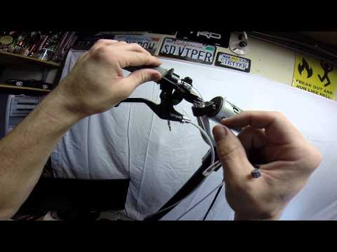 GoPed, HOW TO: Motor Install, Throttle Cable, Dialing in.