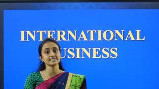 I PUC | BUSINESS STUDIES | International Business  - 08
