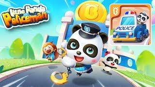 Little Panda Policeman in the Panda Town | Little Panda games