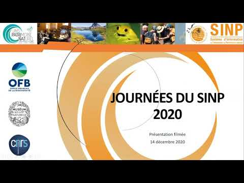 [Replay] Journées du SINP Système d'information de l'inventaire du patrimoine naturel, 14-17 décembre 2020