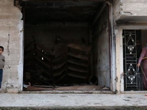 Syria's Homs Now a Ghost Town