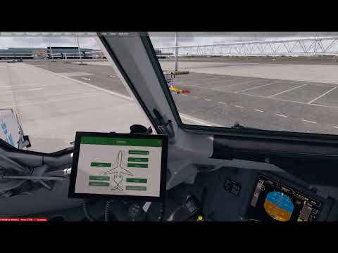 Boeing 717 - Amsterdam to Munich - Full ATC and Commentary