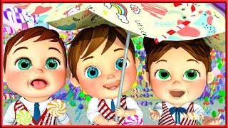 Baby Shark Song , Wheels on the bus | Sign Language For Kids | Kids Cartoon | Banana Cartoon | ASL
