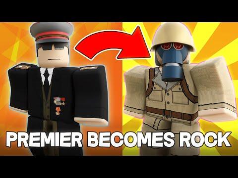 PREMIER BECOMES ROCK   Roblox Military Simulator