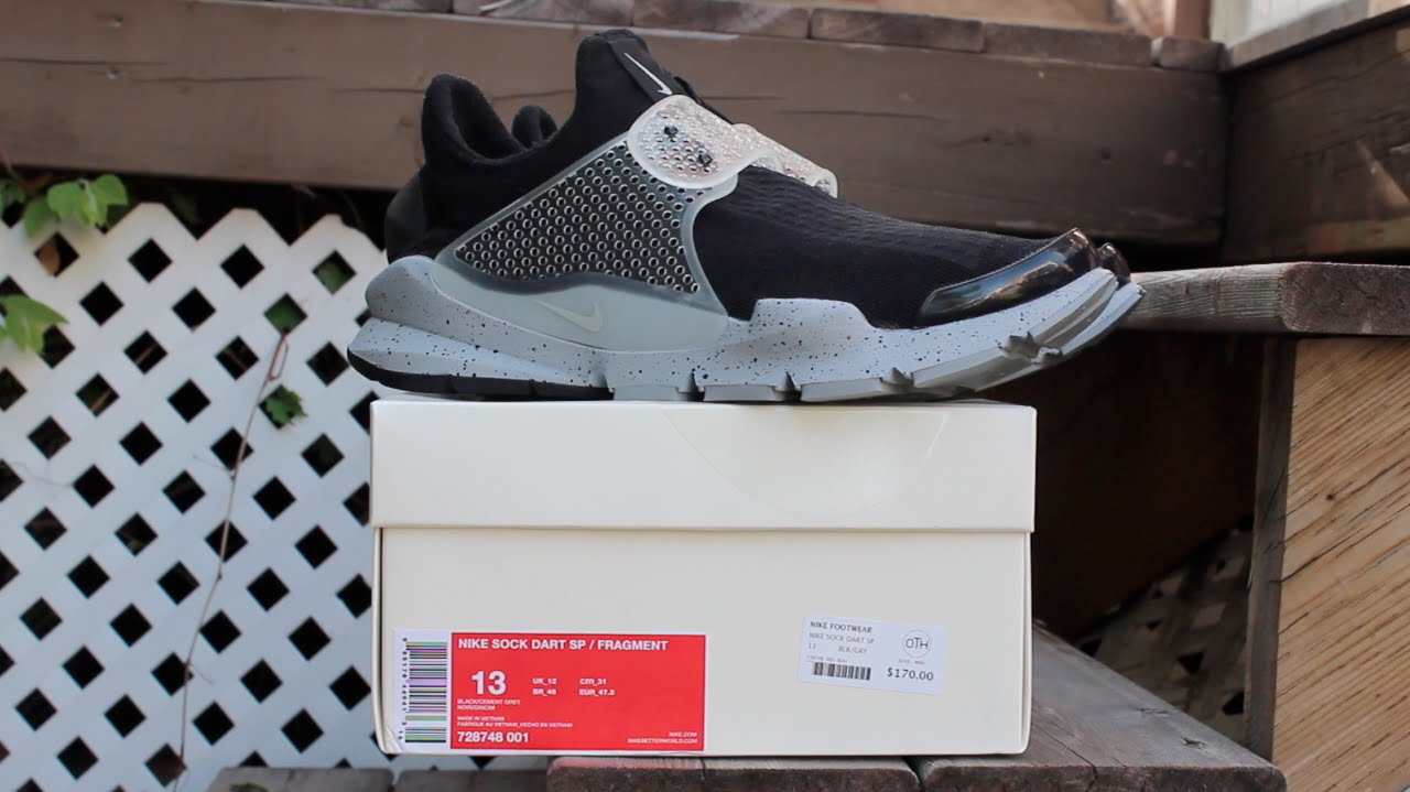 newest collection 62a46 3a7f6 Nike Sock Dart x Fragment