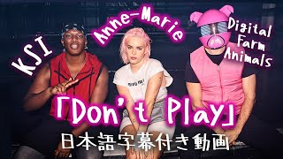 Download 【和訳】Anne-Marie x KSI x Digital Farm Animals 「Don't Play」【公式】