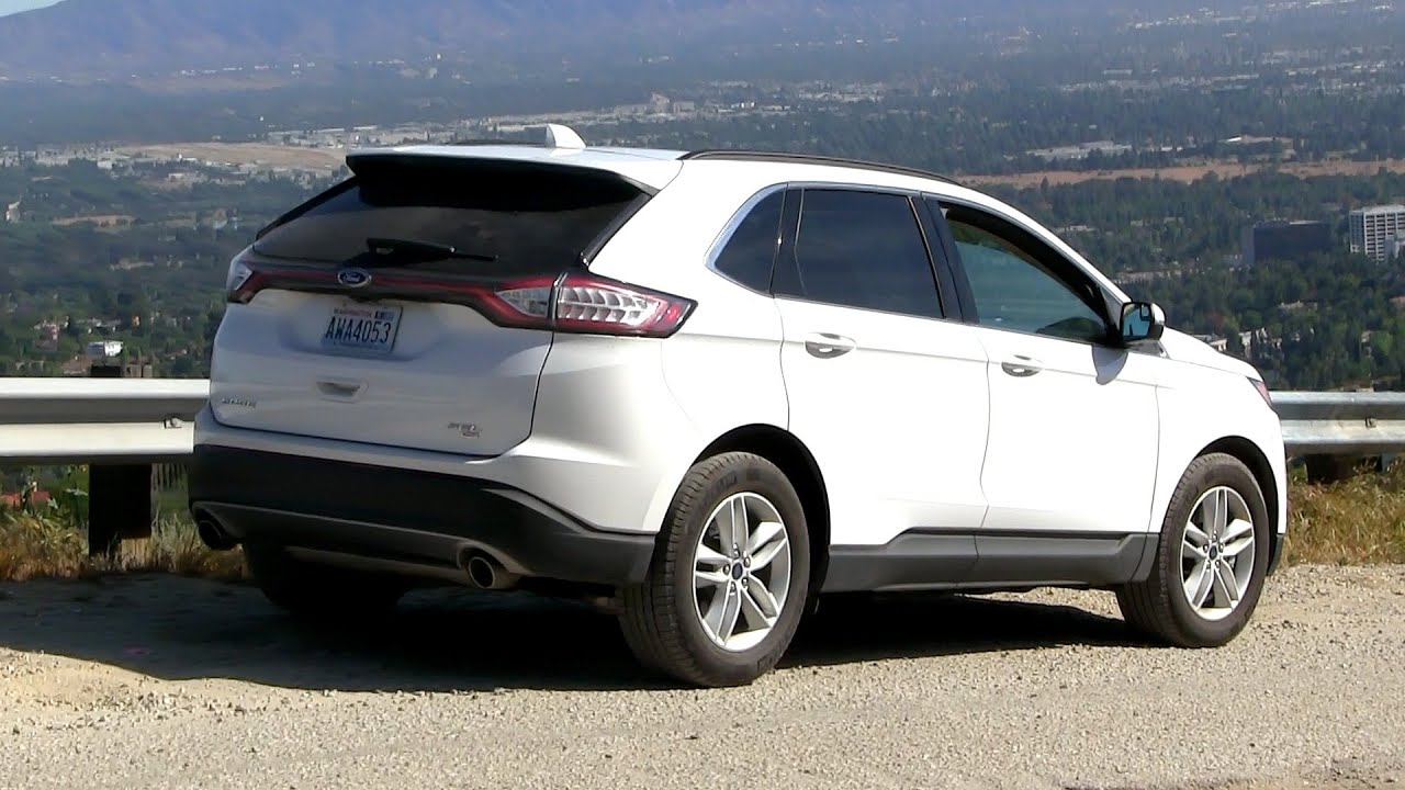 2016 Ford Edge Sel 3 5l V6 280 Hp Test Drive By Freak