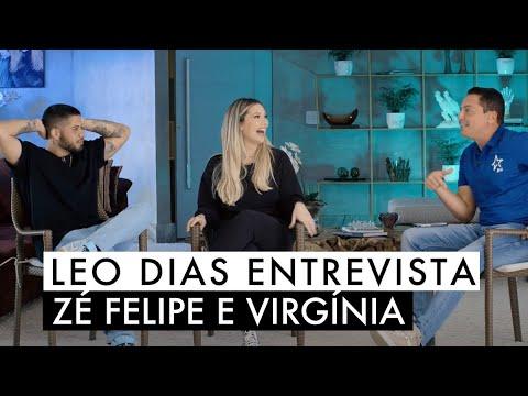Leo Dias entrevista Zé Felipe e Virgínia