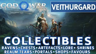 God of War - Veithurgard All Collectible Locations (Ravens, Chests, Artefacts, Shrines) - 100% thumbnail
