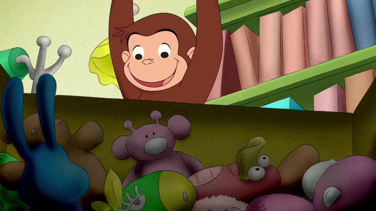 Monkey Goes Crazy 🐵Curious George 🐵Kids Cartoon🐵Kids Movies🐵Videos for Kids