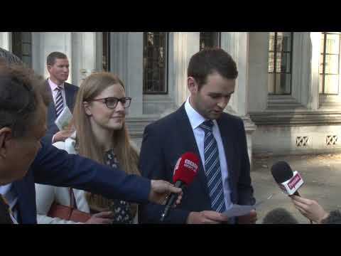 "McArthur family ""delighted"" with Ashers Supreme Court ruling."