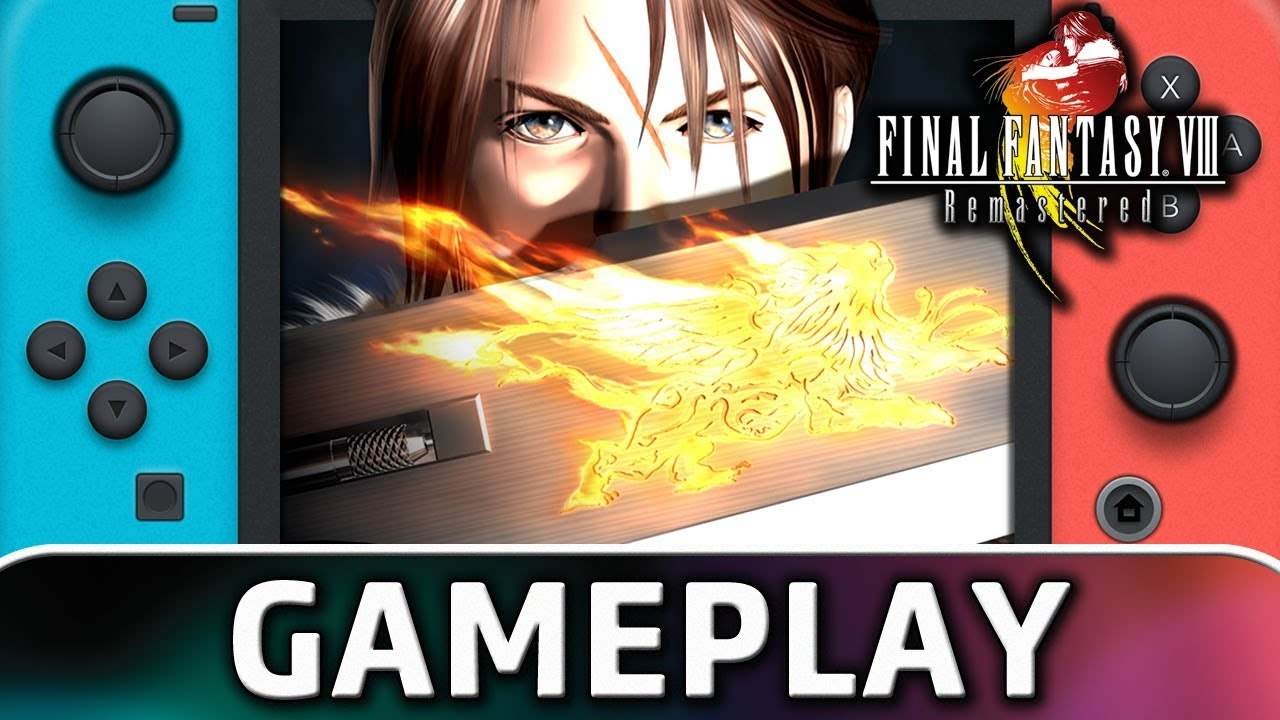 FINAL FANTASY VIII Remastered | First 15 Minutes on Nintendo Switch