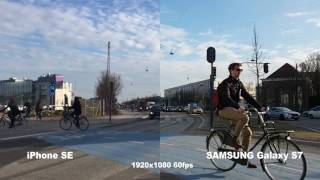 iPhone SE vs Samsung Galaxy S7 video camera test