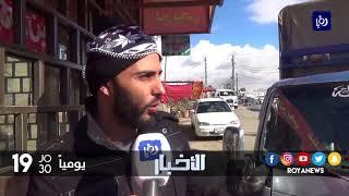 معاناة مستمرة من سوء البنية التحتية لمدخل مجمع الأمير راشد في الزرقاء - (9-1-2018)