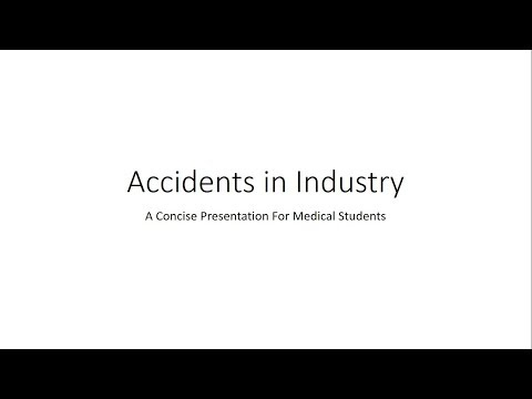Industrial Accidents - PSM for Medical Students