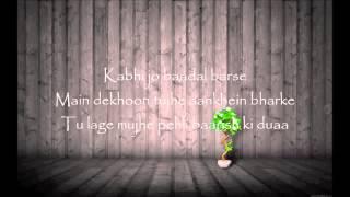 I'll Be Waiting (Kabhi Jo Baadal) Arjun Feat.Arijit Singh - Lyrics