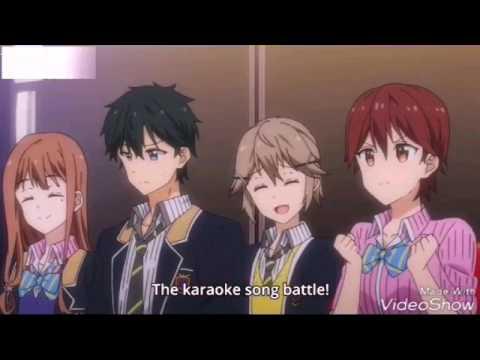 masamune-kun's no revenge episode 12 karaoke battle CLASS A VS CLASS B