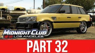 MIDNIGHT CLUB LOS ANGELES XBOX ONE Gameplay Walkthrough Part 32 - FREE RANGE ROVER SPORT
