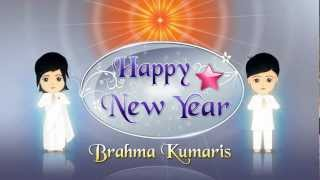 Happy New Year From Brahma Kumaris - Flash Animation -  Hindi