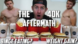 THE 40,000 CALORIE AFTERMATH